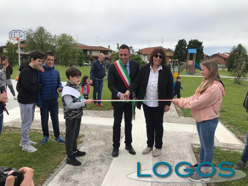 Castano - Inaugurato il Parco Sciaredo