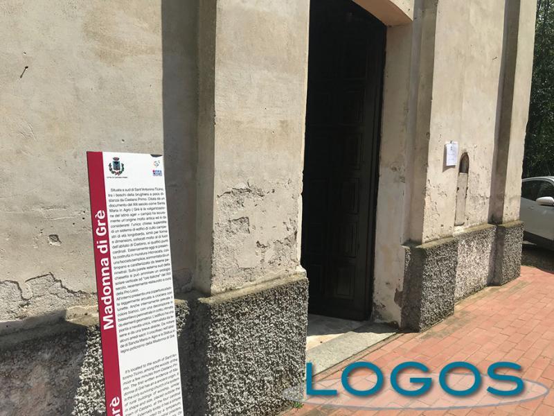 Castano - Il Santuario della Madonna di Grée