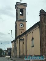 Nosate - Il campanile della chiesa di San Guniforte