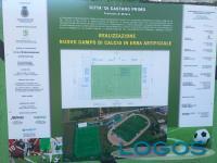 Castano - Lavori di riqualificazione del campo sportivo