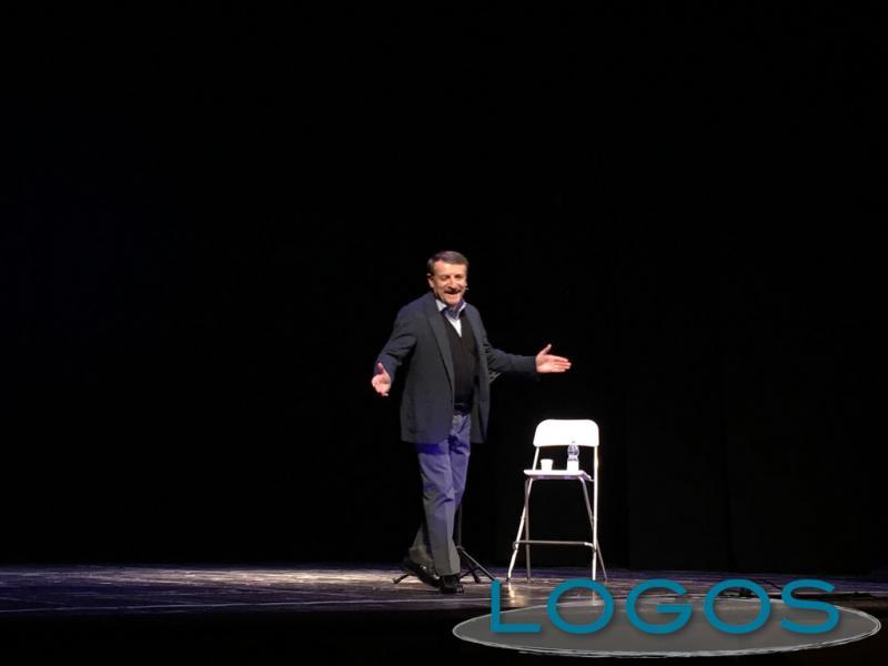 Eventi - Giacomo Poretti durante lo spettacolo
