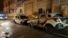 Robecchetto - Auto in fiamme in via Arese