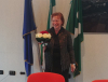 Bernate Ticino - Mariapia Colombo appena eletta a Sindaco