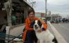 Storie - Simona con il suo amico 'a quattro zampe' (Foto internet)