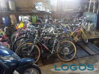 Sociale - Alcune delle biciclette raccolte per il Togo