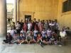 Castano Primo - Un gruppo di ragazzi e volontari del Pedibus