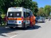 Castano Primo - I soccorritori sul luogo dell'incidente