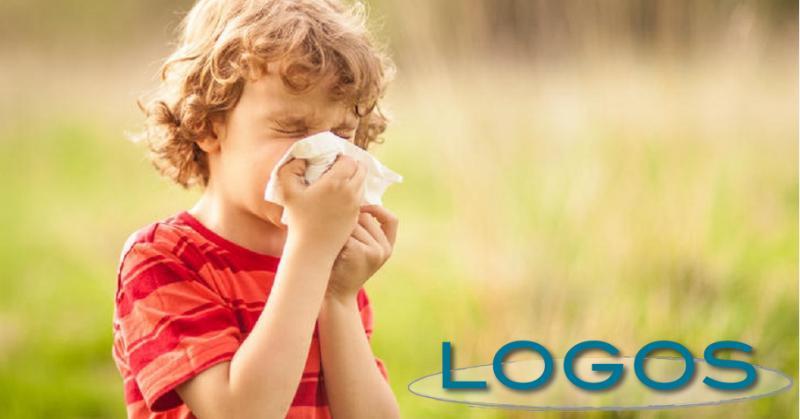 Salute - Un bambino con allergia (da internet)