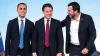 Politica - Giuseppe Conte con Luigi Di Maio e Matteo Salvini
