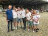 Castano Primo - Maurizio Croci con alcuni ragazzi del 'Fiore che Ride Croce Azzurra Ticinia'