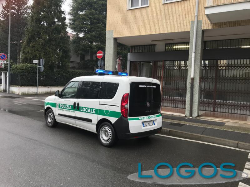 Castano Primo - Polizia locale in piazza San Zenone