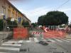 Castano Primo - I cantieri davanti alla scuola di via Acerbi
