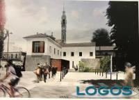 Magnago - Il progetto della nuova biblioteca in piazza San Michele (Foto d'archivio)