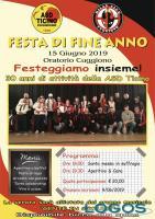 Cuggiono - ASD Ticino e Milan Club, festa di fine anno 2019, locandina