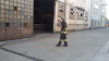 Cronaca - Vigili del fuoco durante l'intervento