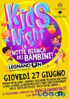 Legnano - Notte Bianca dei Bambini, locandina 2019