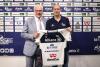 Sport - Roberto Piazza con il presidente Lucio Fusaro