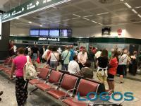 Malpensa - Passeggerri in aeroporto