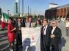Sport / Milano - Una delegazione di Regione Lombardia