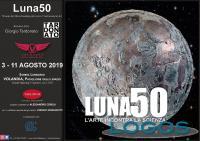 Eventi - A Volandia la mostra 'Luna50'