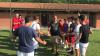 Sport - Massimo Maccarone ai Soccer Boys per incontrare i giovani calciatori