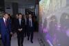 Milano - Il Premier Conte durante la visita alla mostra
