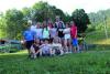 Cuggiono - Un gruppetto di giovani dell'oratorio estivo
