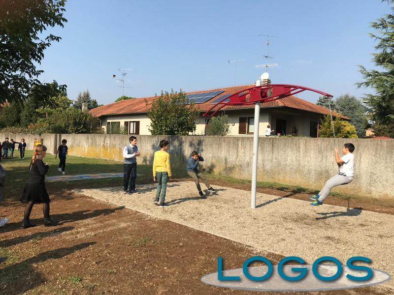 Castano - Uno dei giochi al Parco Junior (Foto d'archivio)