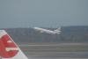 Malpensa - Aereo in decollo (Foto d'archivio)