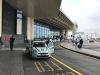 Malpensa - Una pattuglia della Polizia locale all'aeroporto