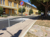 Castano Primo - L'area di fronte alle scuole di via Acerbi