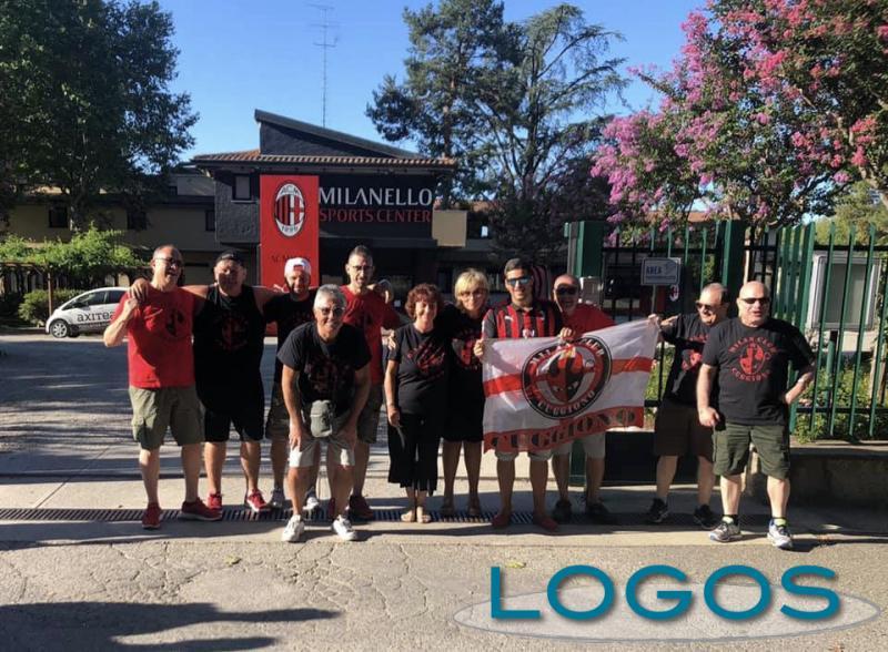 Cuggiono - Tifosi del Milan Club Cuggiono a Milanello, agosto 2019