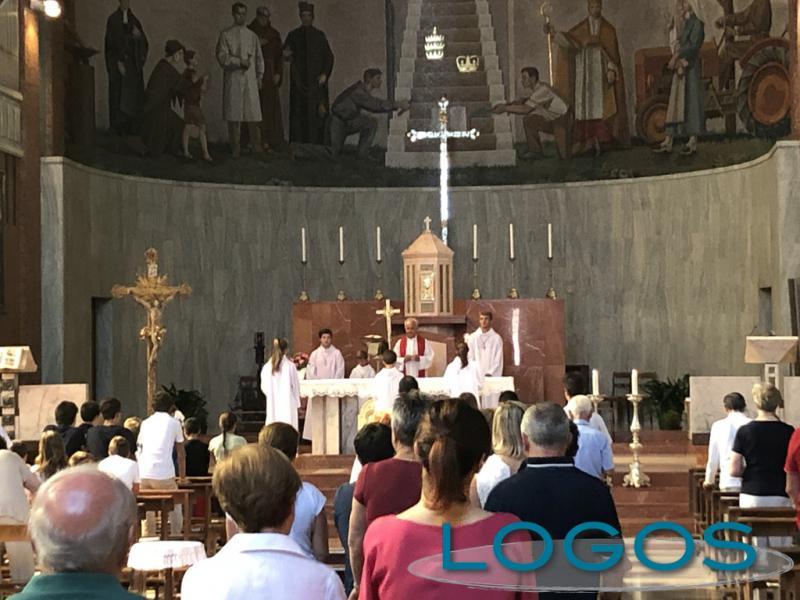 Buscate - Ultima messa per don Giuseppe Ornaghi