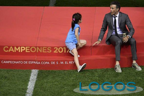 Sport - Il dramma di Luis Enrique: la figlia di 9 anni Xana è morta per osteosarcoma (Foto internet)