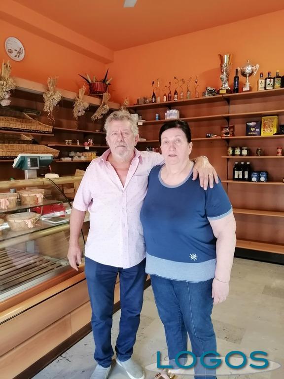 Mesero - Claudio Bognetti con la moglie