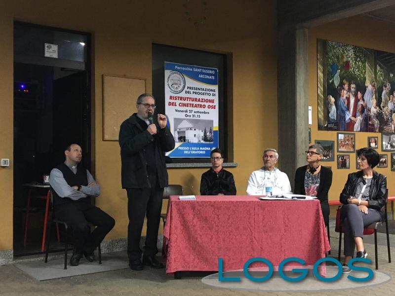 Arconate - Presentato il progetto del futuro Cineteatro