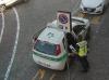Castano - La Polizia locale durante un servizio