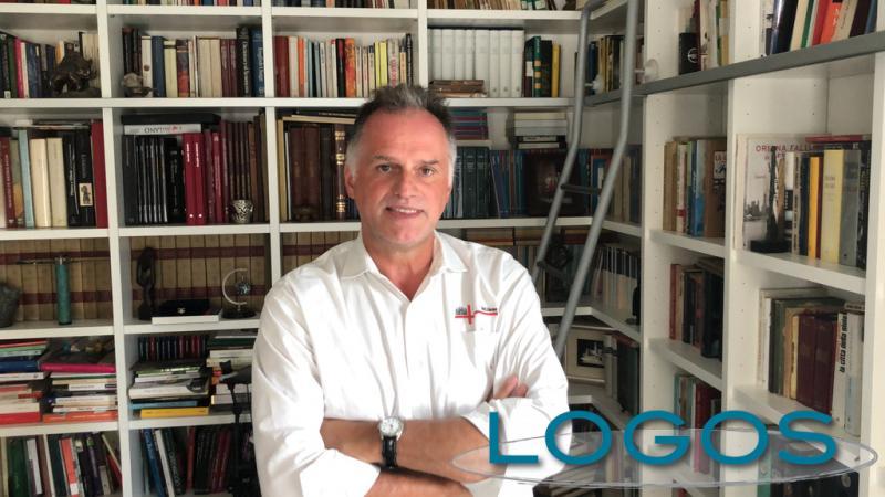 Politica - Massimo Garavaglia, nella sua abitazione