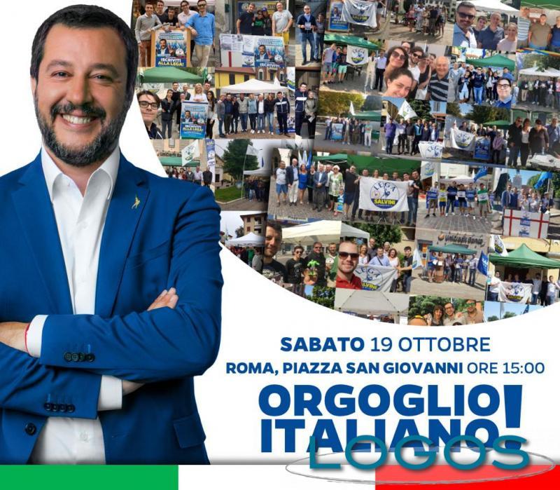 Politica - Lega a Roma: in 500 dal territorio