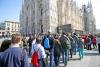 Milano - Turisti in piazza Duomo (Foto internet)