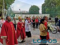 Milano - L'Arcivescovo Mario Delpini accolto in una parrocchia
