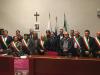 Cuggiono / Castano - L'ex Primo Ministro giapponese con alcuni sindaci e autorià del territorio