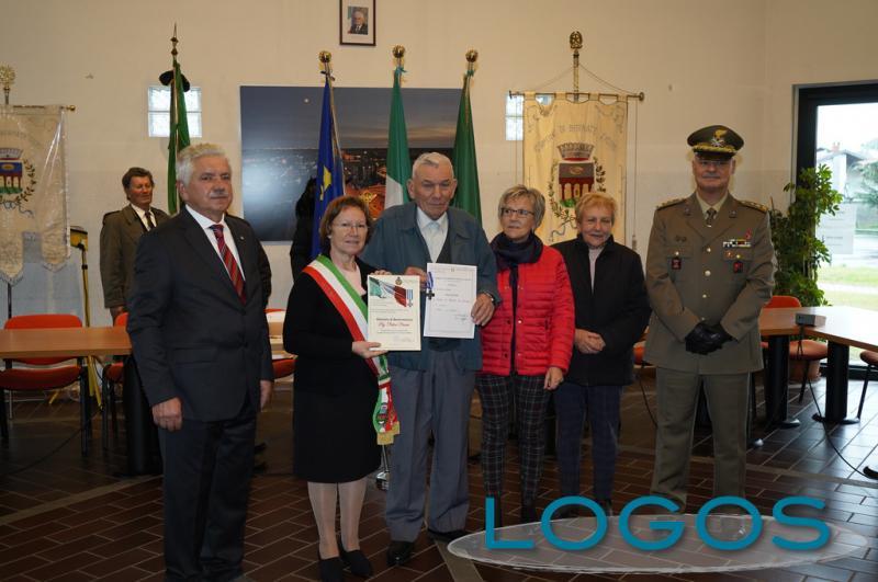 Bernate Ticino - La consegna delle 'Croci di Guerra'