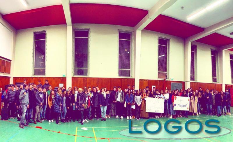 Scuola - Il Liceo d'Arconate e d'Europa a Strasburgo per i diritti globali