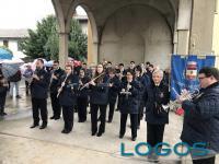 Cuggiono - Il Corpo Musicale Santa Cecilia impegnato a Mesero