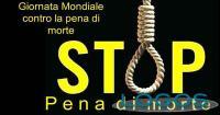 Sociale - 'Stop pena di morte' (Foto internet)