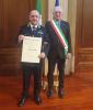 Robecchetto - Rota con il sindaco Braga (Foto Giorgio Braga)