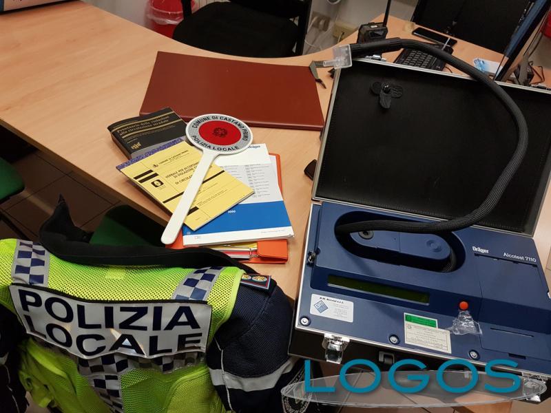 Castano Primo - Polizia locale: alcoltest