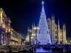 Milano - L'albero di Natale in piazza Duomo (Foto internet)