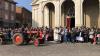Inveruno - Don Marco alla benedizione dei trattori duranta la Fiera